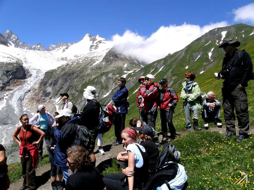 Wokół Mont Blanc - trekking górski, Col du Grand Ferret