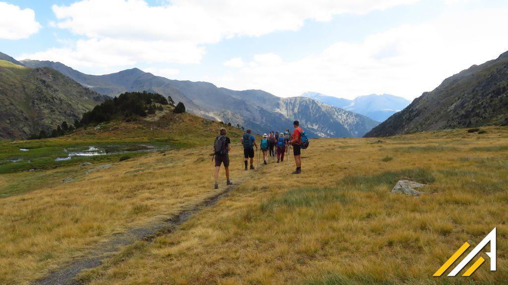 Trekking w Pirenejach, Andora. Zejście z Coma Pedrosa do Arinsal