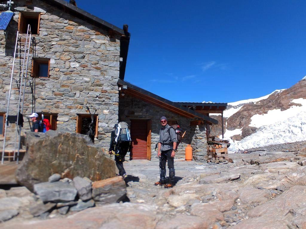 Trekking w Alpach, Rifugio citta di Mantova, Masyw Monte Rosa