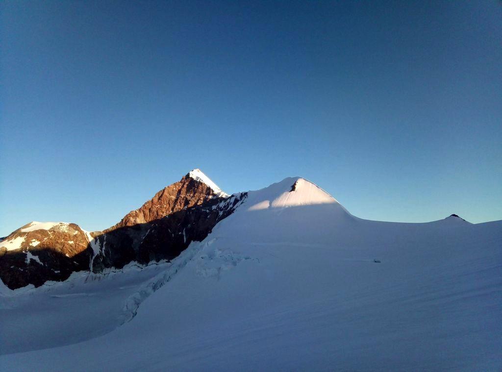 Trekking w Alpach, Piramide Vincent, Masyw Monte Rosa