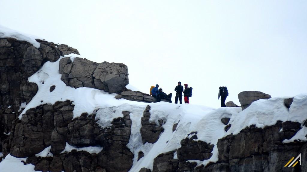 Tatry Zachodni, trekking. Mułowa Przełęcz w masywie Czerwonych Wierchów