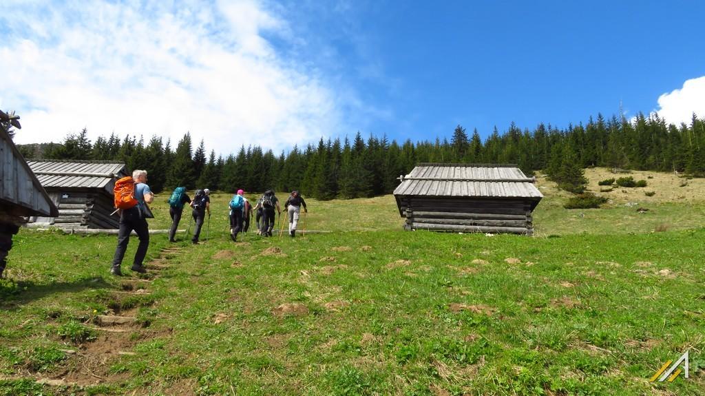Wycieczka w Tatry Zachodnie. Szałasy na Polanie Stoły