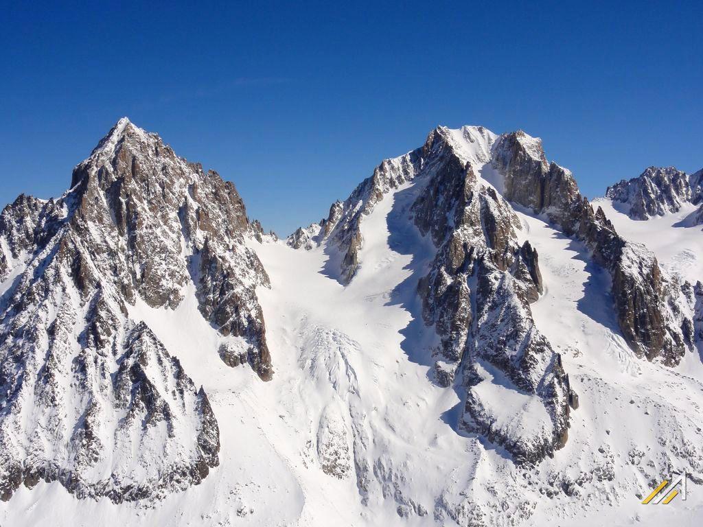 Haute Route zimą. Aiguille du Chardonnet, Col du Chardonnet i Aiguille d'Argentiere, rejon Chamonix