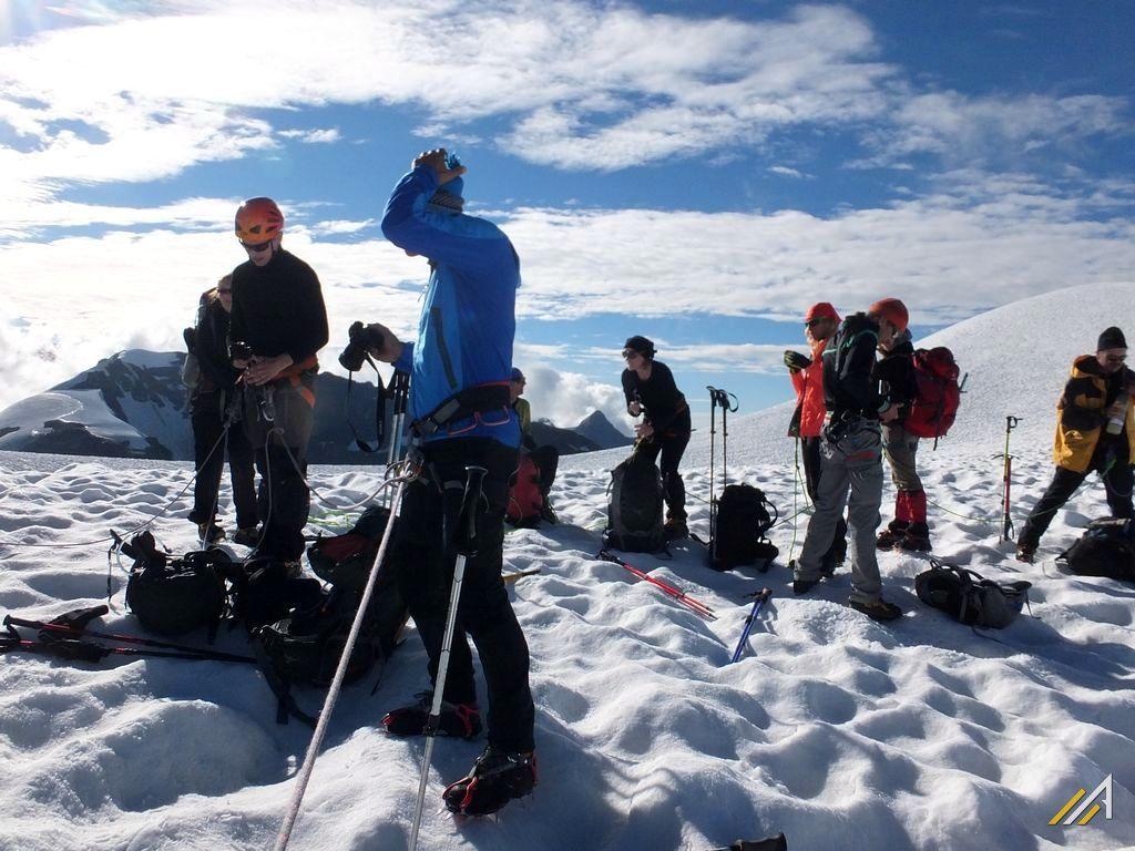 Haute Route z Chamonix do Zermatt. Przejście letnie