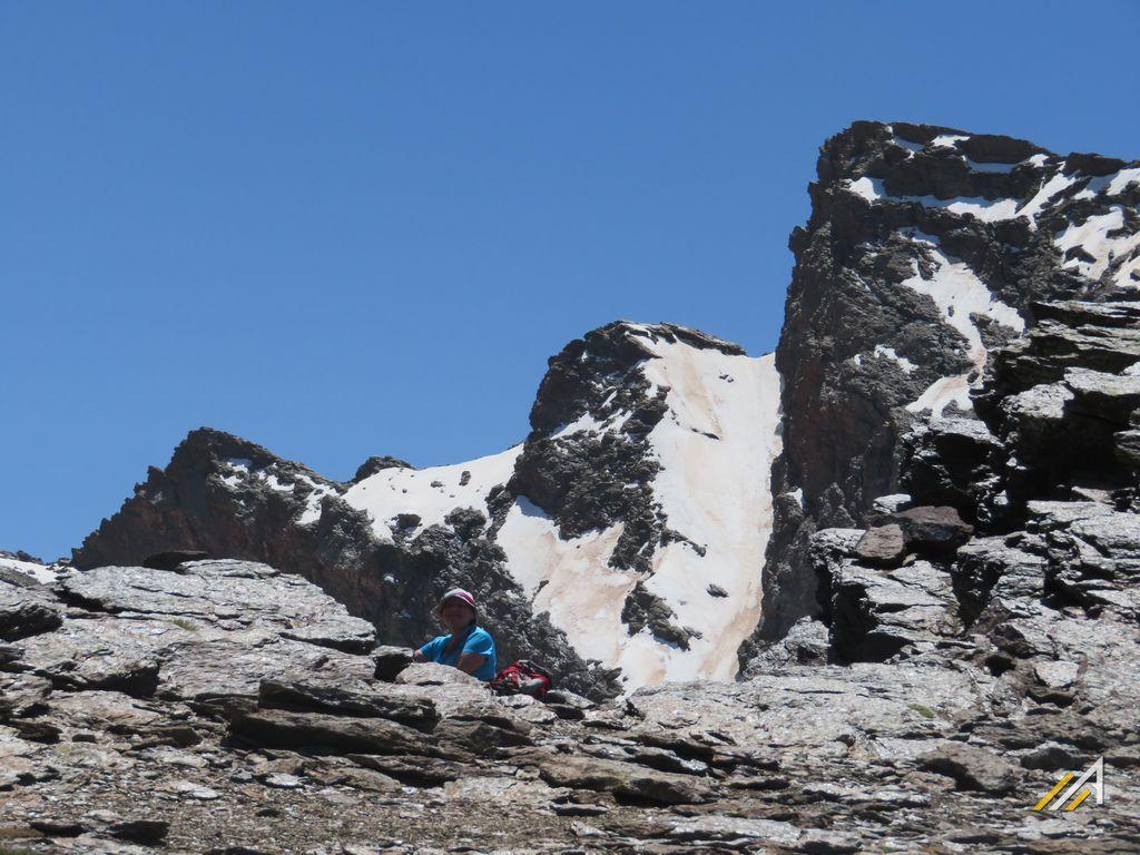 Trekking w górach Sierra Nevada, szczyt Veleta