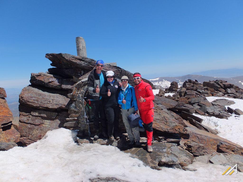 Trekking w Górach Betyckich, Sierra Nevada, szczyt Mulhacen ( 3478 m n.p.m.)