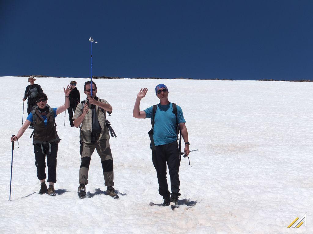 Trekking w Górach Betyckich, szlak ze szczytu Mulhacen do Refugio Poqueira