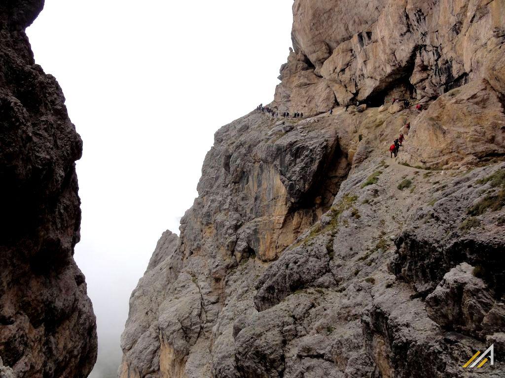 Dolomity Wschodnie, szlak na Lagazuoi