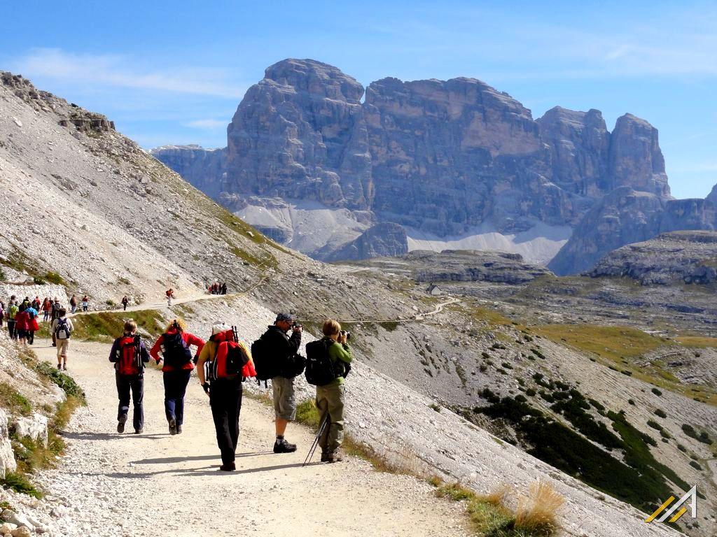 Trekking w Dolomitach, łatwa wycieczka górska w grupie Sesto