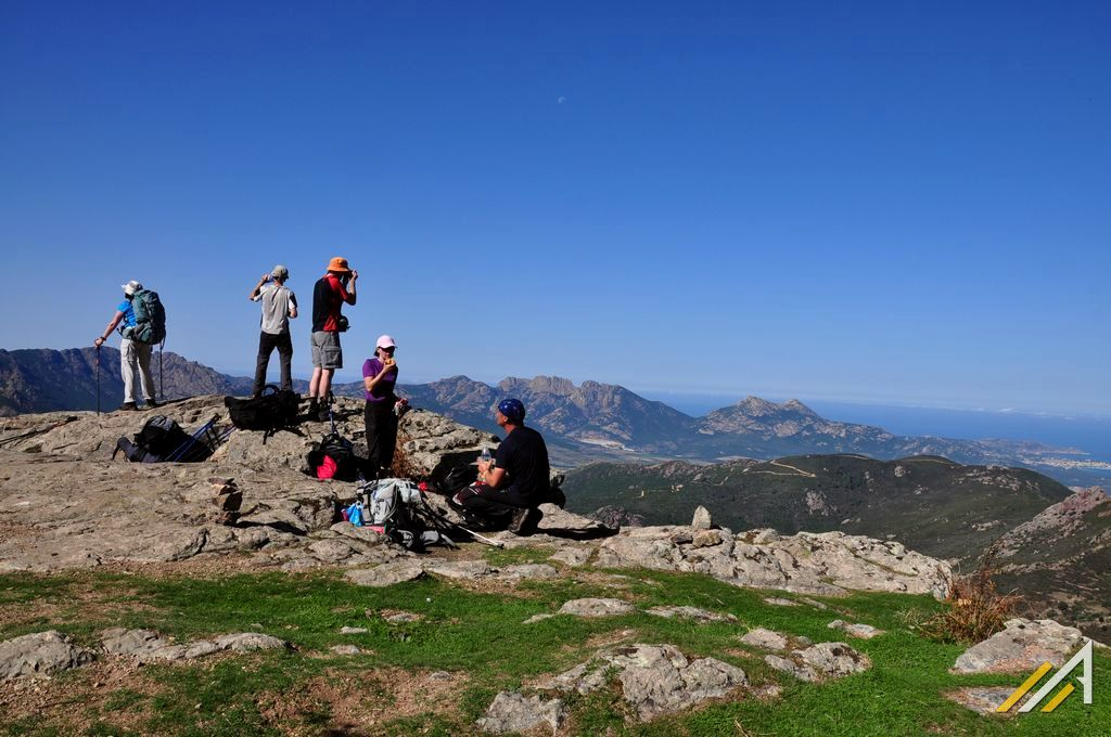 Trekking na Korsyce, szlak GR20.