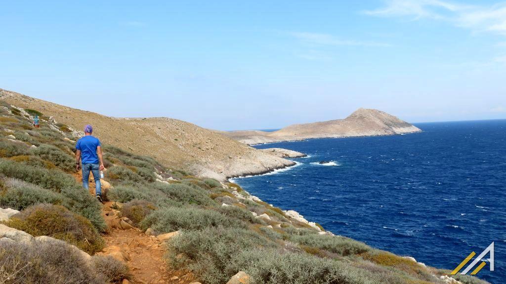 Grecja, trekkingi. Przyladek Tenaro i góry pasma Sangias - fragment Taygetu