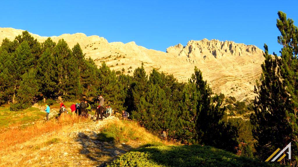 Trekking w Grecji, szlak z refuge Spilios Agapitos na Olimp