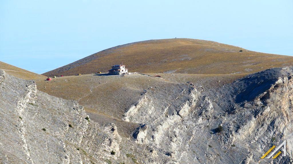 Trekking w górach Grecji, masyw Olimpu, Refuge Christos Kakalos i Płaskowyż Muz