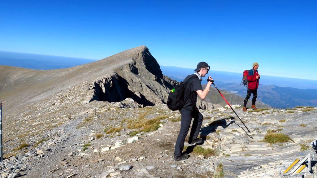 Trekking w Grecji, Skala i Skolio w masywie Olympus