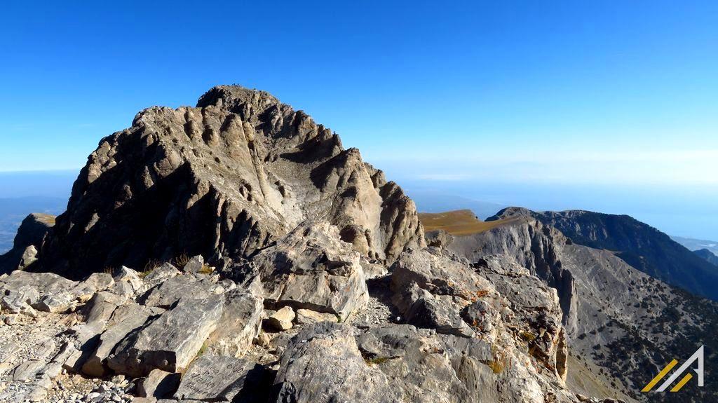 Trekking w górach Grecji, Mitikas (2917 m n.p.m.) - Thronos Dios