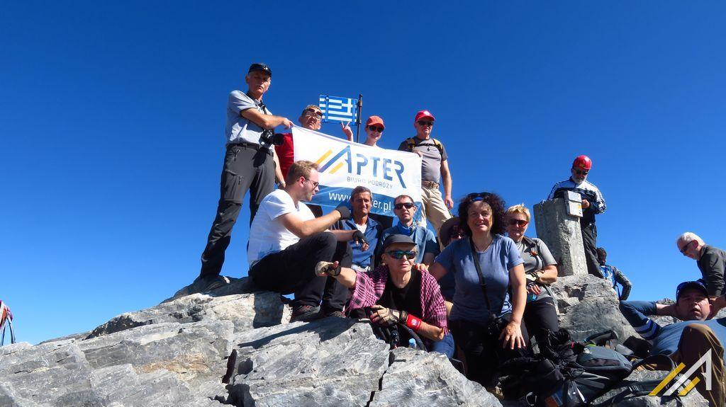Trekking w górach Grecji, Mitikas (2917 m n.p.m.), najwyższy szczyt góry Olimp