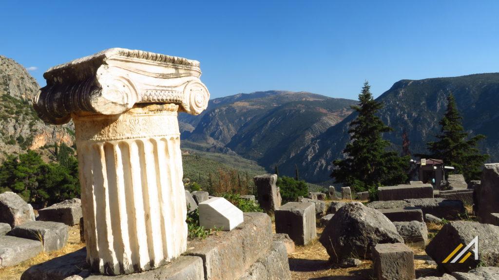 Wakacje w Grecji, Delfy, muzeum archeologiczne
