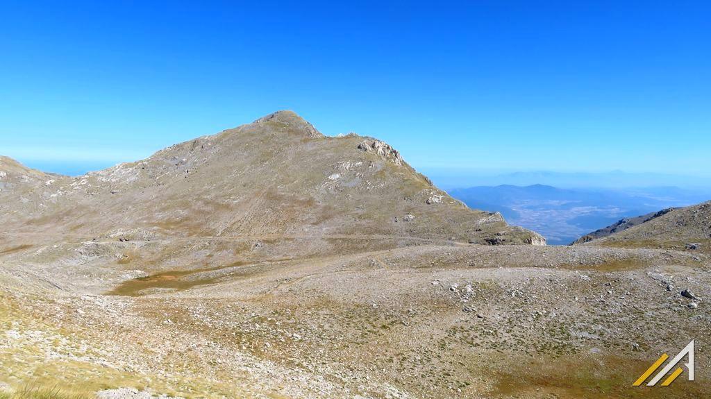 Grecja, trekking w Górach Parnas, Liakoura (2457 m n.p.m.)