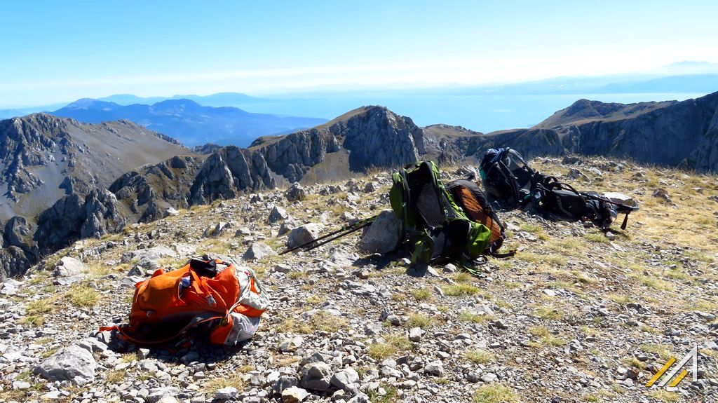 Urlop w Grecji. Szczyt Liakoura (2457 m n.p.m.) w Parku Narodowym Parnassos