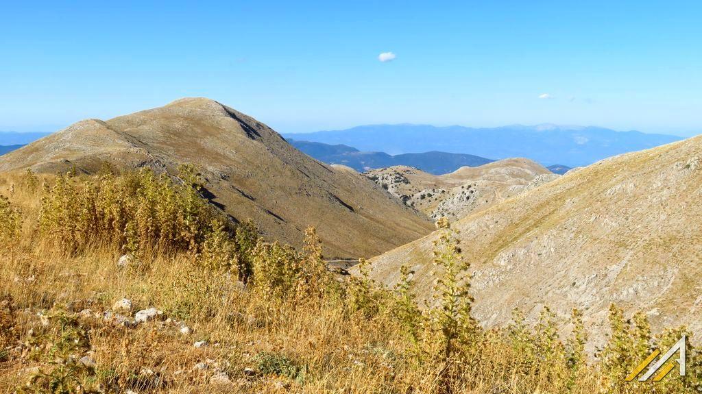 Trekking w górach Grecji. Góry Parnas, okolice Kelaria
