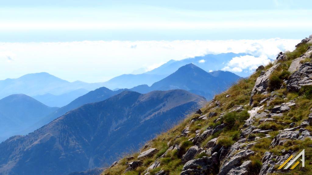 Grecja, trekking w górach Tajget. Pasmo wciśnięte pomiędzy dwa miasta, Sparta i Kalamata.
