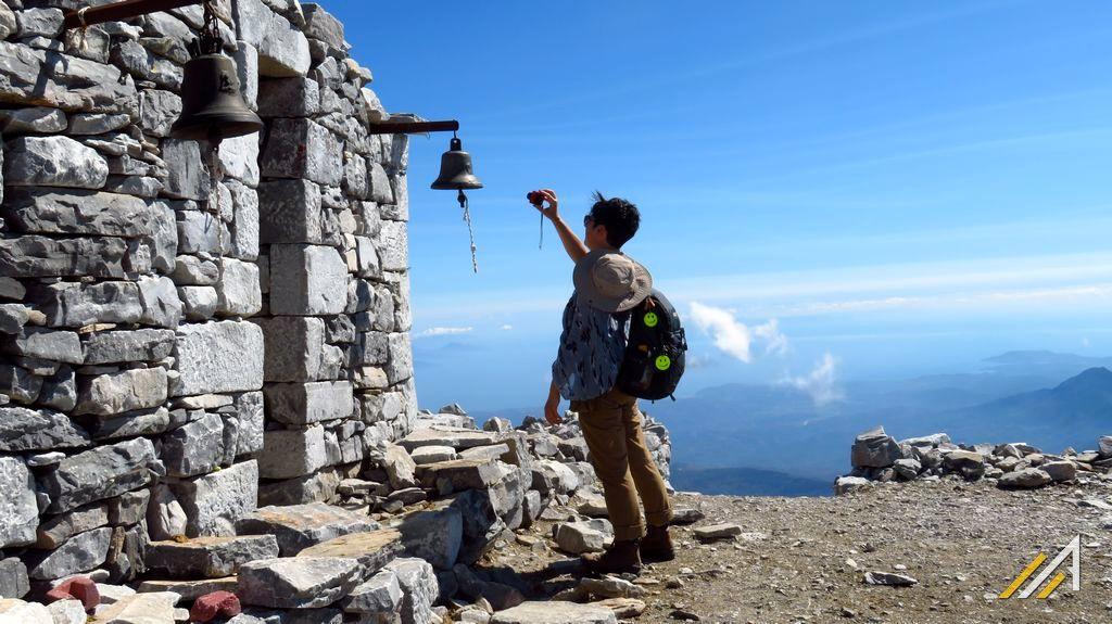 Trekking w Grecji, szczyt Profitis Ilias (2407 m n.p.m.), najwyższy w górach Tajget
