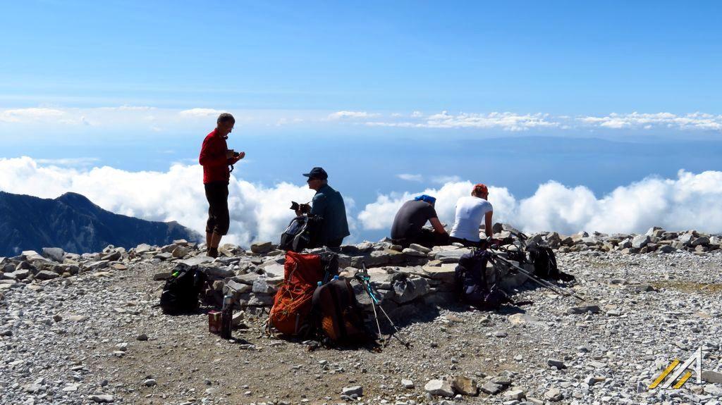 Wakacje w górach Grecji, Tajget.