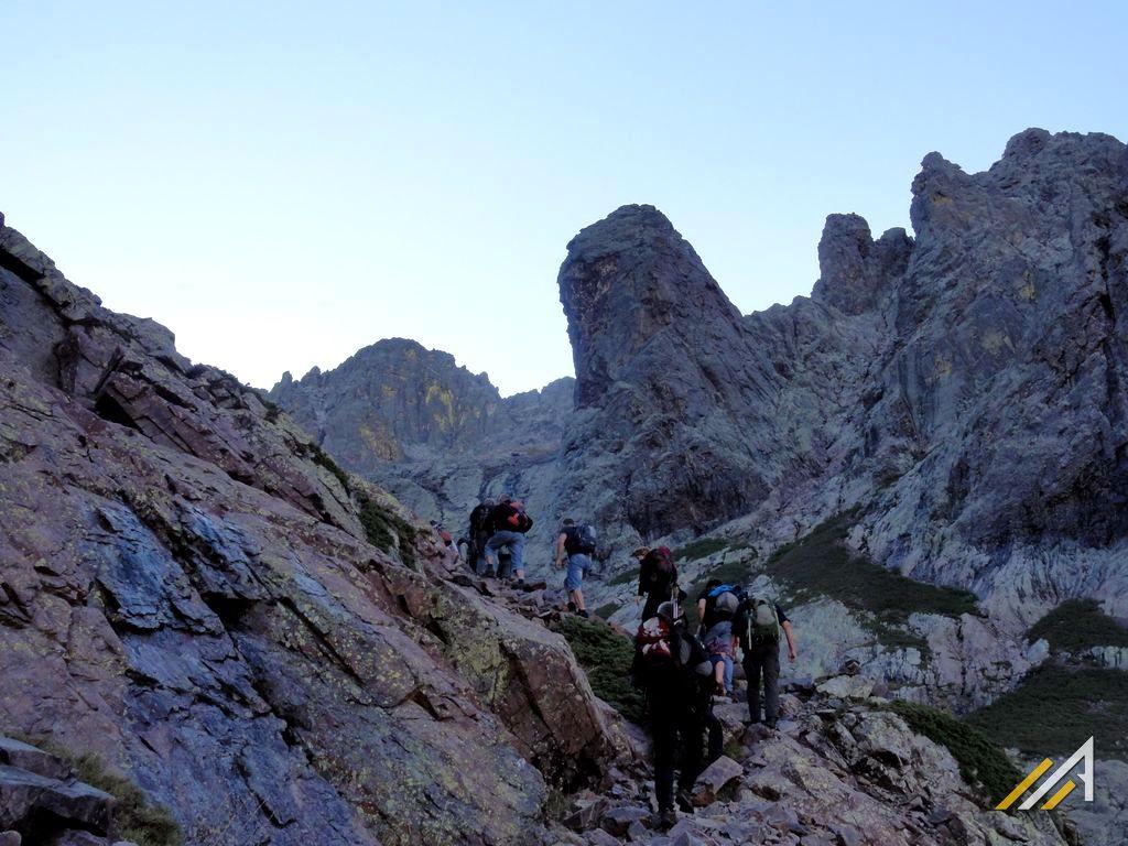 Trekking na Korsyce, szlak z Ascu Stagnu na Monte Cinto
