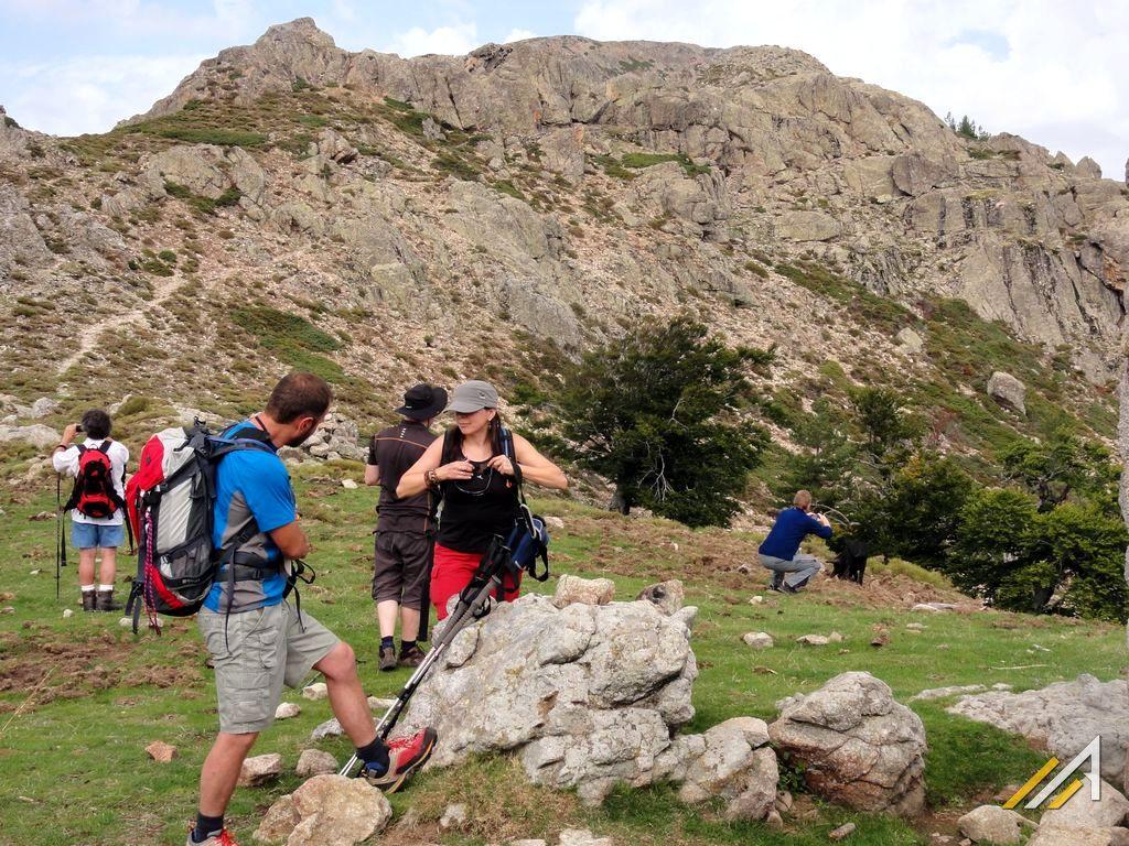 Korsyka, trekking szlakiem GR20, Bocca San Pedru