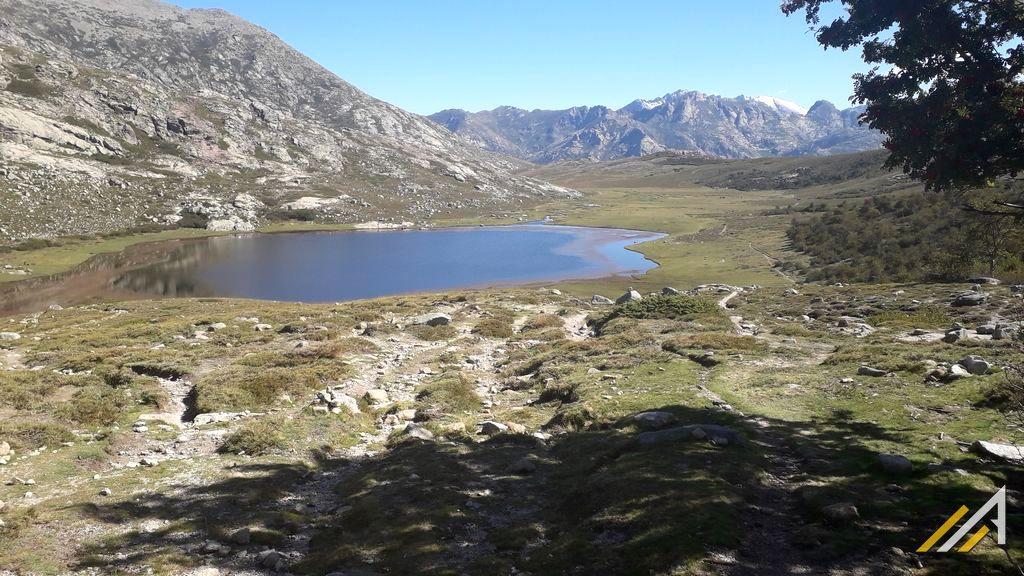 Trekking na Korsyce, szlak GR20, Lac de Nino